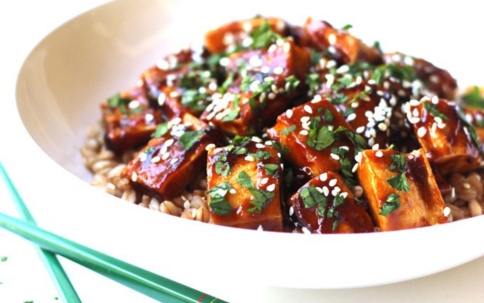 Super Easy Hoisin Tofu
