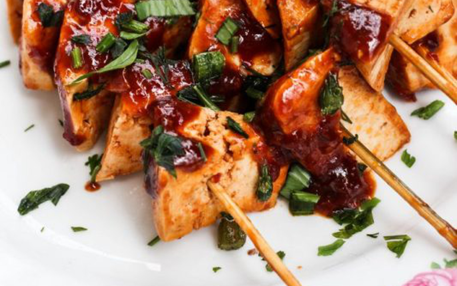 Vegan Sweet and Spicy Cola Tofu
