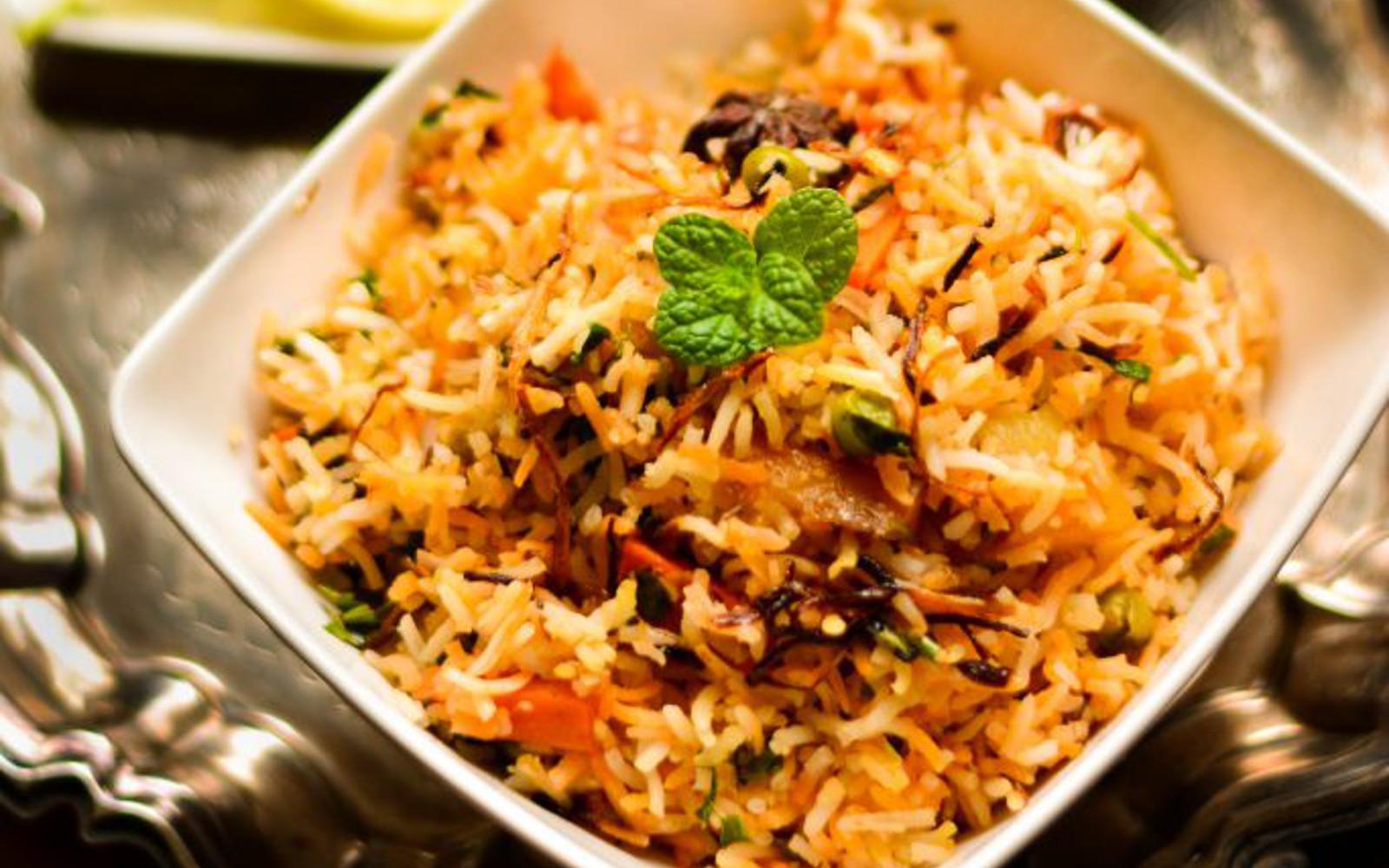 Vegetable Dum Biryani For Two