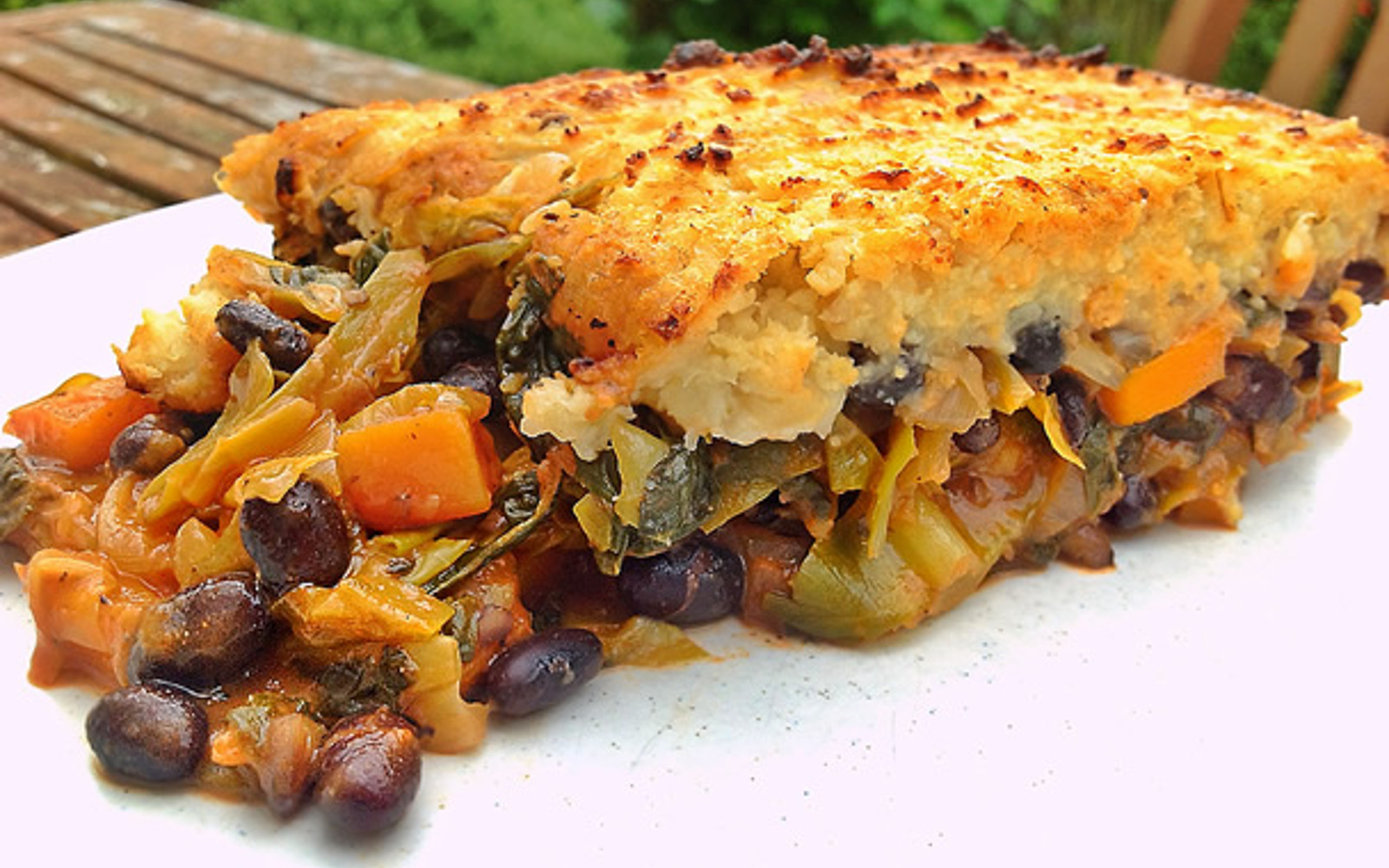 Black Bean and Vegetable Cottage Pie