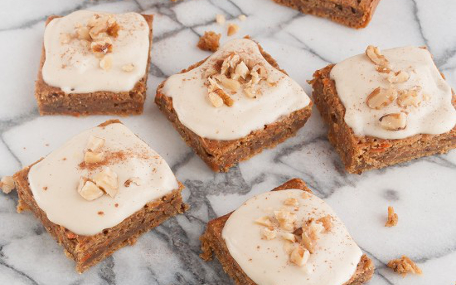 Carrot Zucchini Squares with Cashew Maple Frosting b