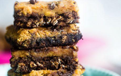 Cookie Dough Oatmeal Bars