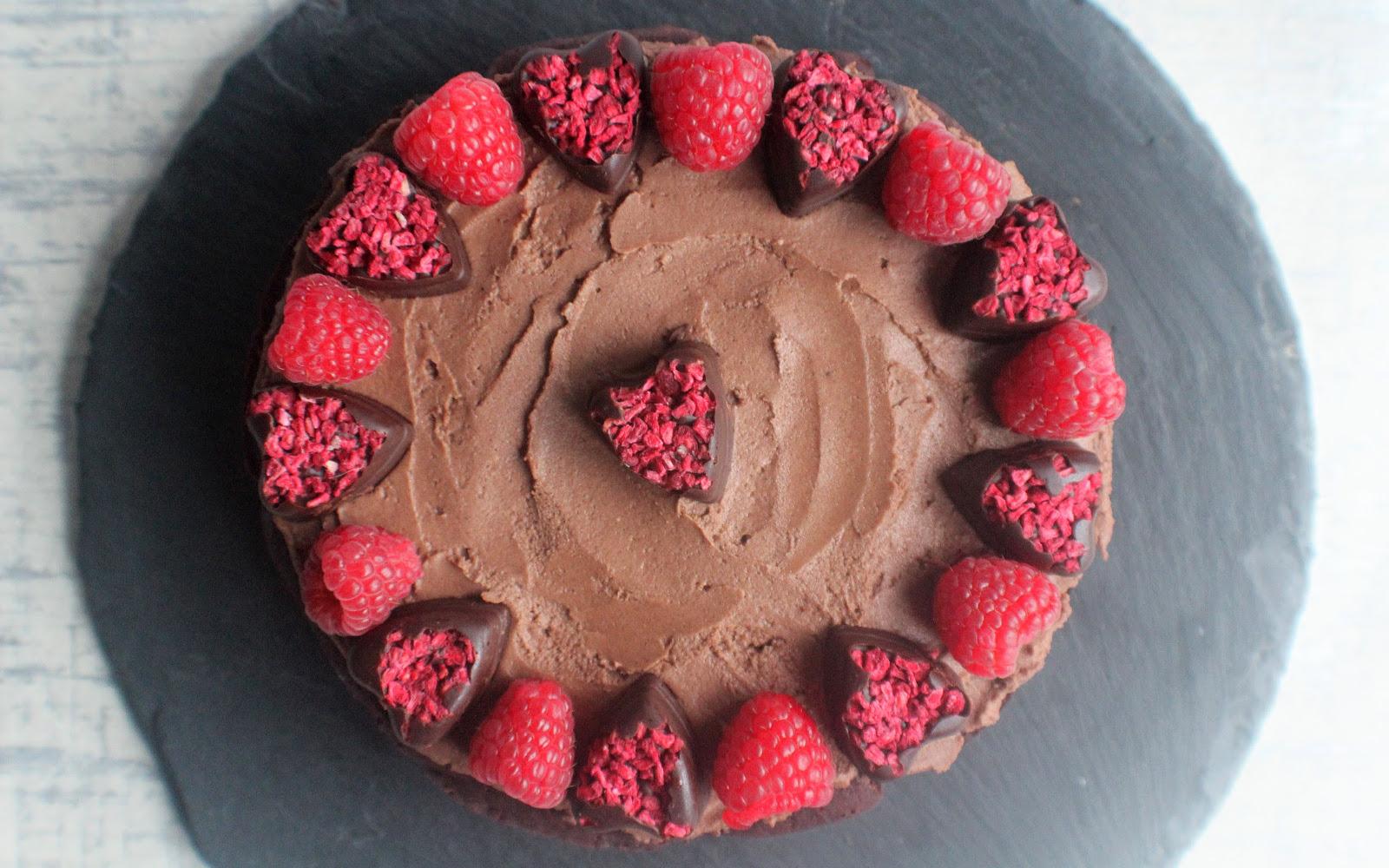 Chocolate Raspberry Beet Cake