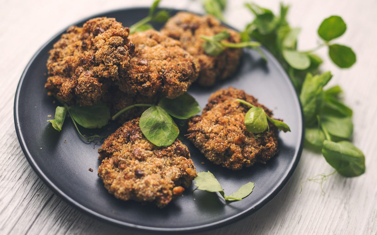 Lentil and Brown Rice Patties