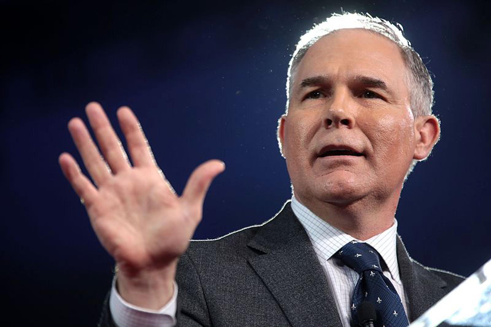 A recap of Scott Pruitt's first week at the EPA - and the news isn't good