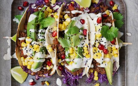 Smokey Adobo Lentil Tacos