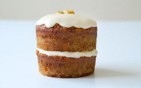 Spiced Mini Carrot Cake