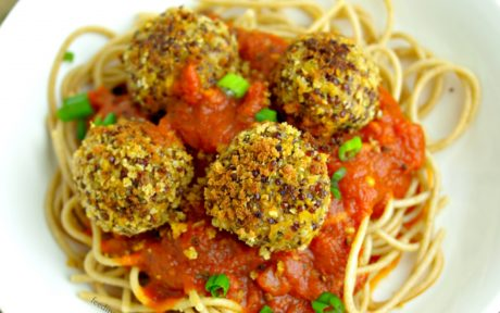 Lentil Quinoa Hemp Seed Meatballs