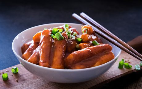 Vegetable Tteokbokki