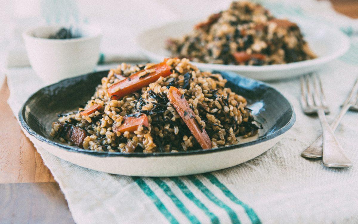 Macrobiotic Brown Rice Arame