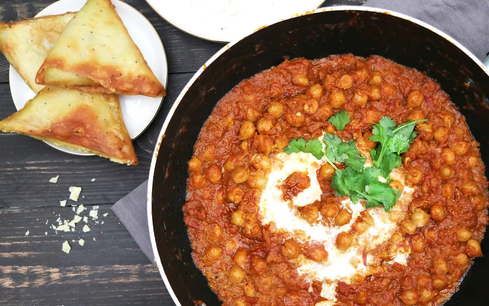 30-Minute Chana Masala [Vegan, Gluten-Free]