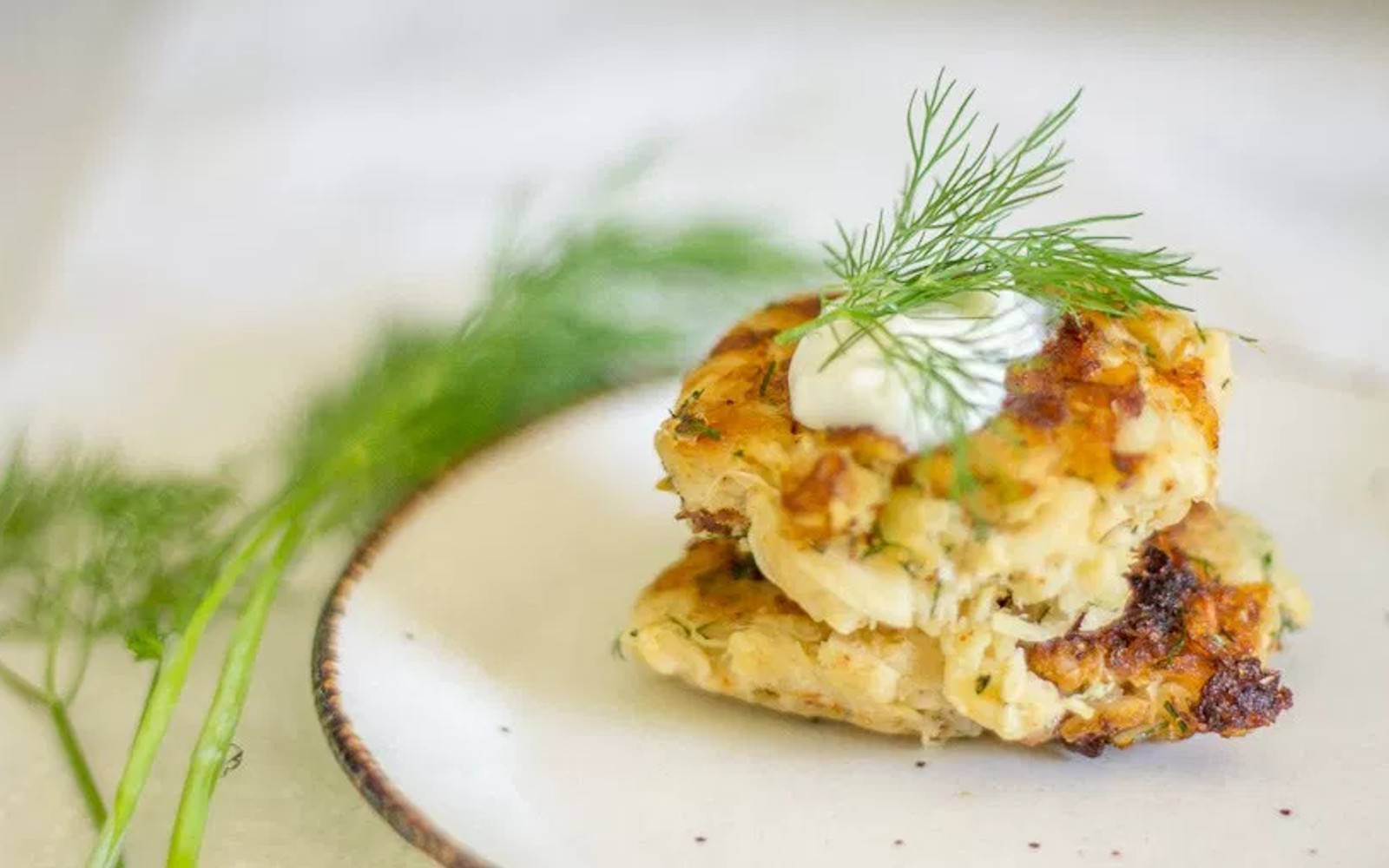 Dill Zucchini Fritters