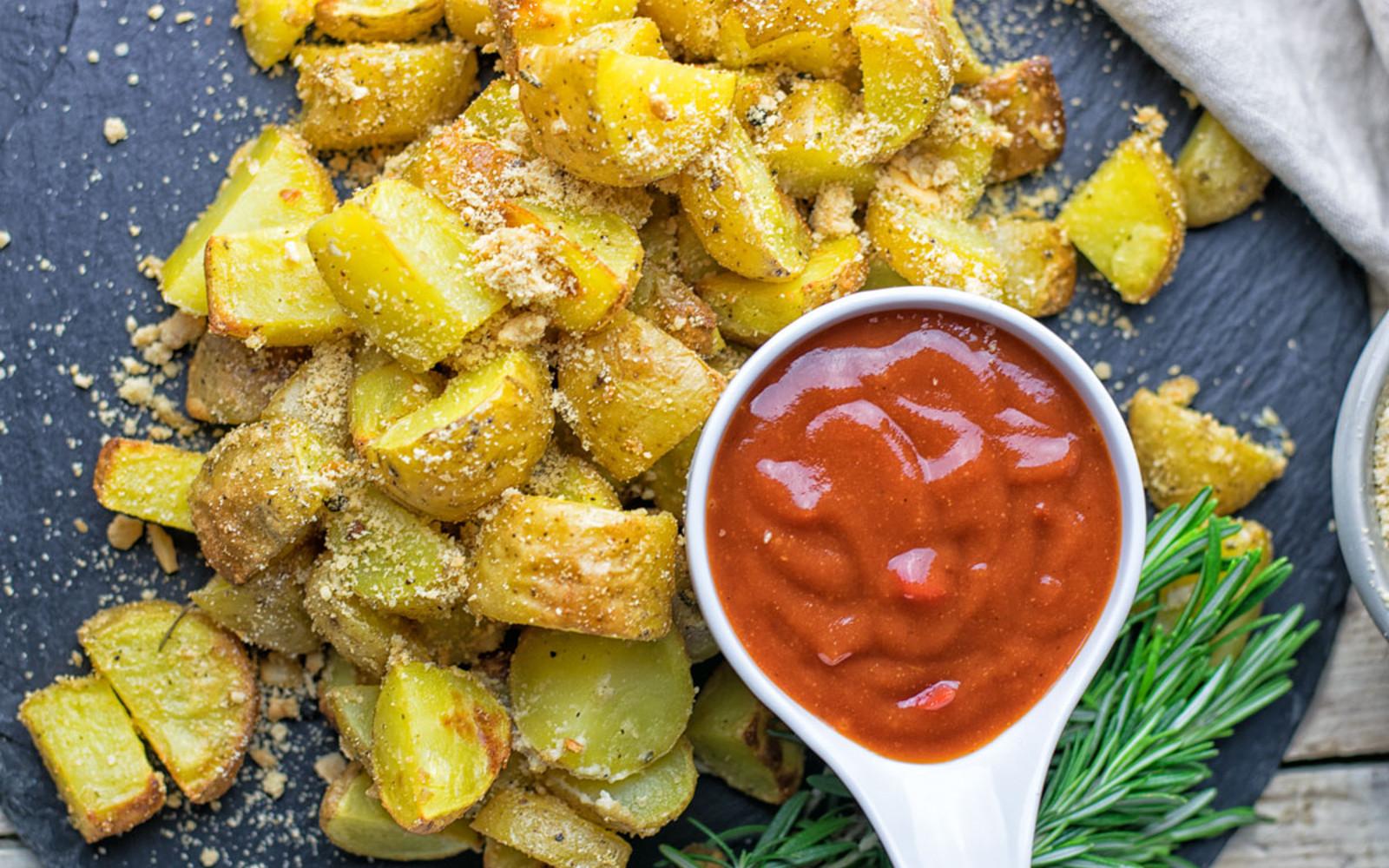 Garlic Parmesan Potatoes