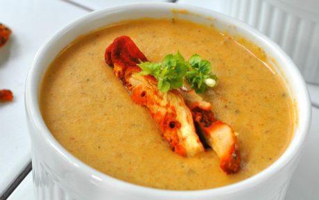 Lobster Mushroom Bisque