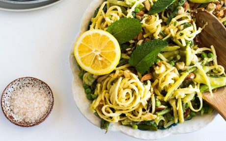 One-Pan White Wine and Preserved Lemon Pasta b