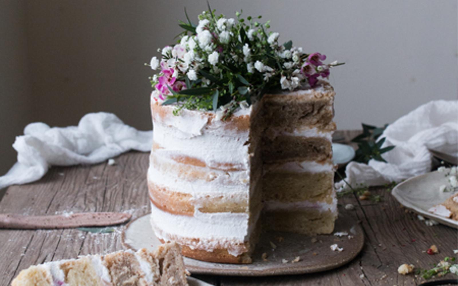 Rhubarb Layer Cake