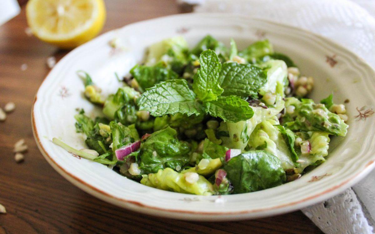 Vegan Buckwheat and Avocado Tabbouleh