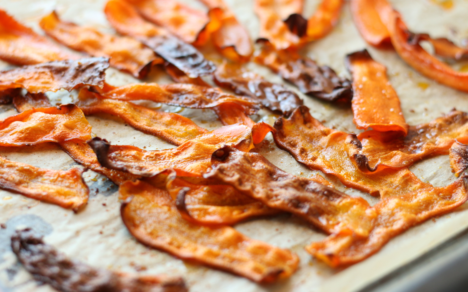 Baked Carrot Bacon