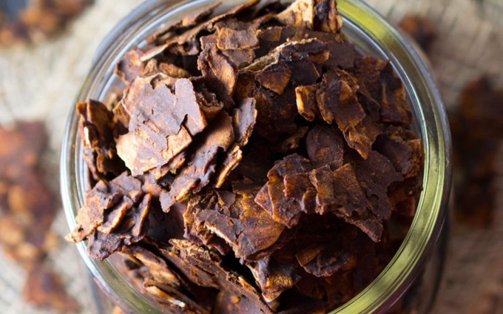 Raw Dark Chocolate Coconut Chips