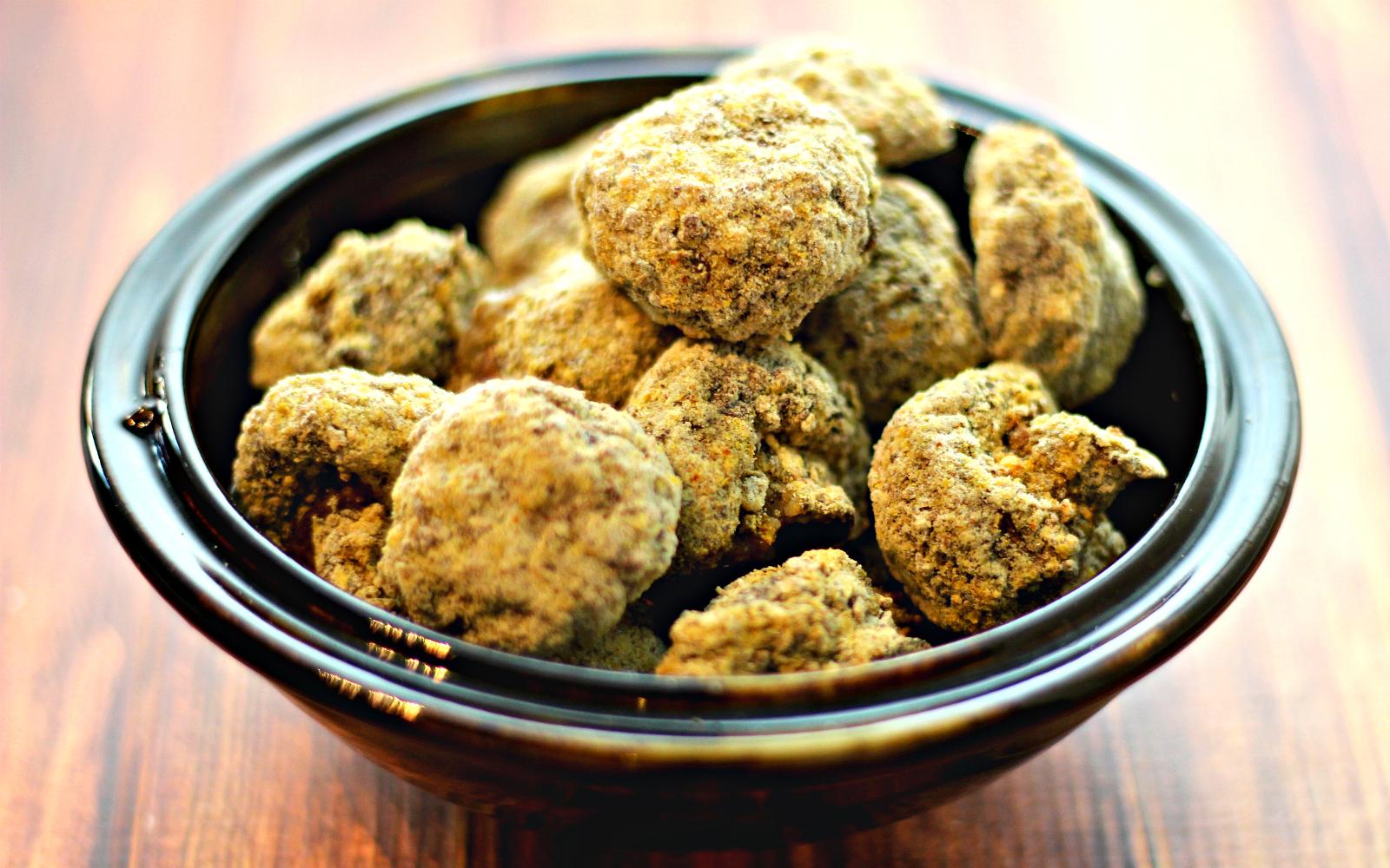 Crispy Breaded Mushrooms