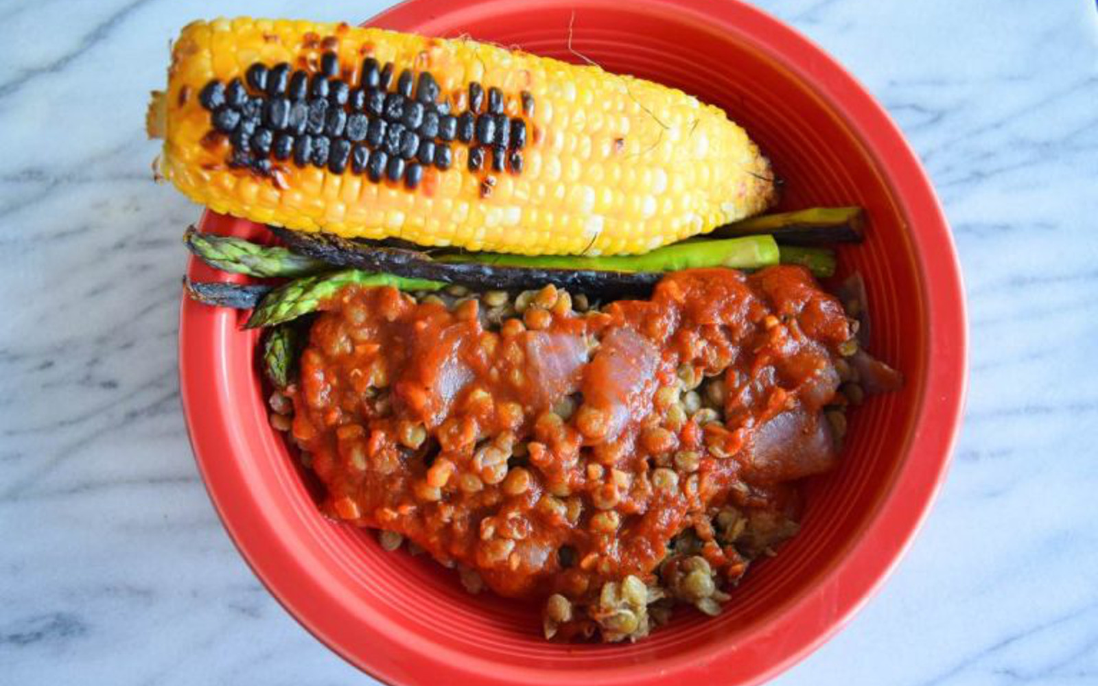 Easy Barbecue Lentils