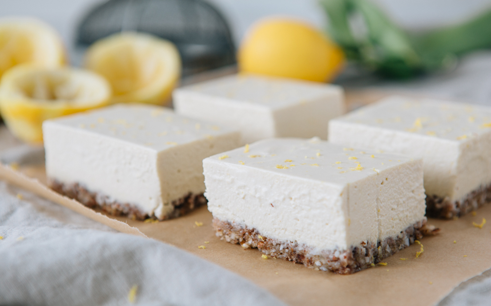 Raw Zesty Lemon Slice
