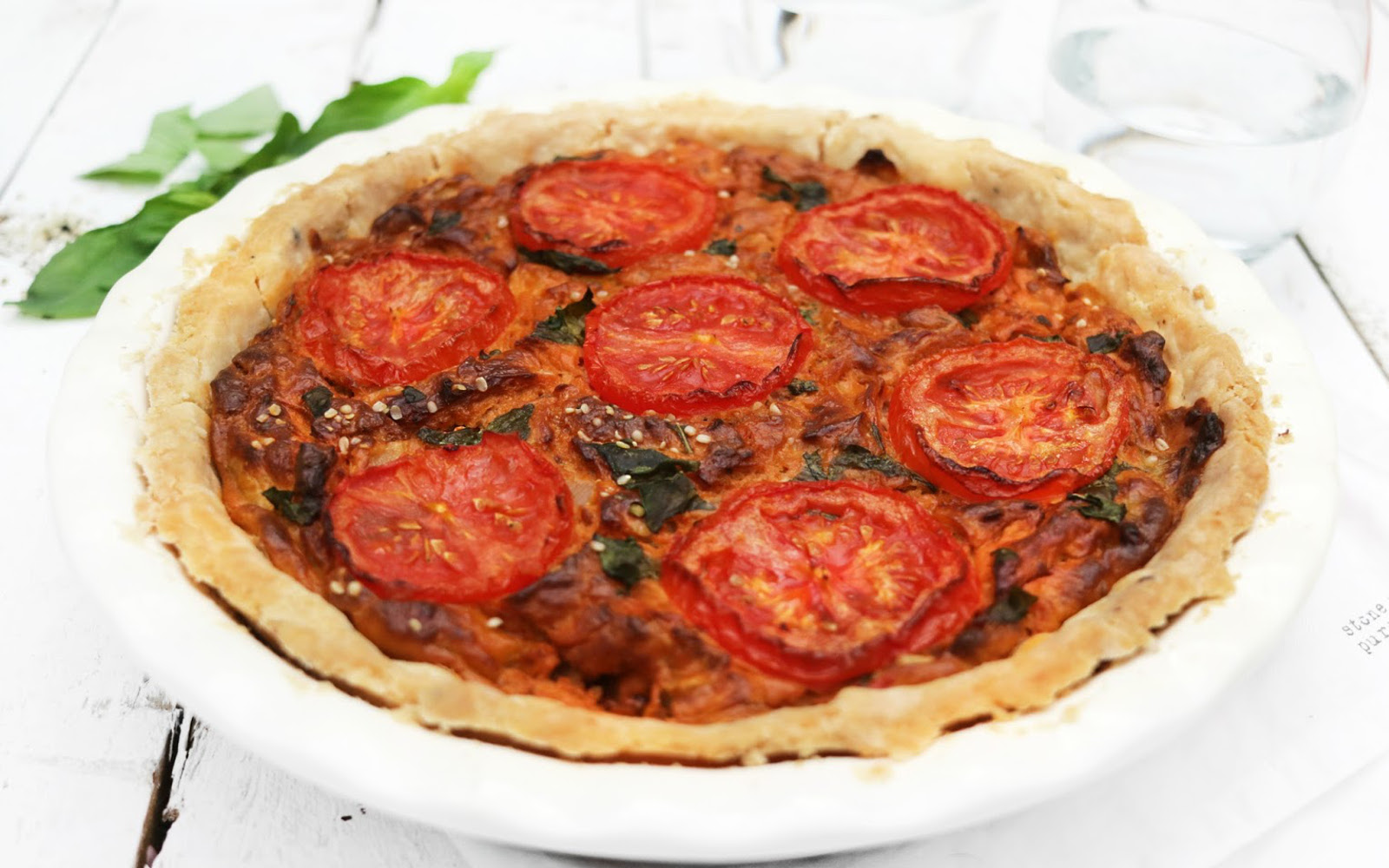Sun-Dried Tomato Quiche