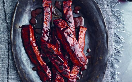 BBQ Seitain Ribs With Homemade Barbecue Sauce