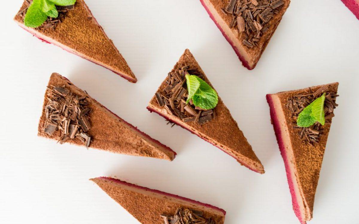 Vegan Beet and Chocolate Mousse Cake