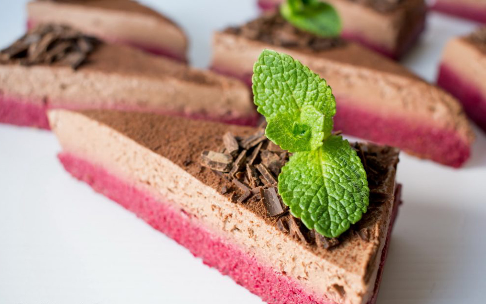 Beet and Chocolate Mousse Cake