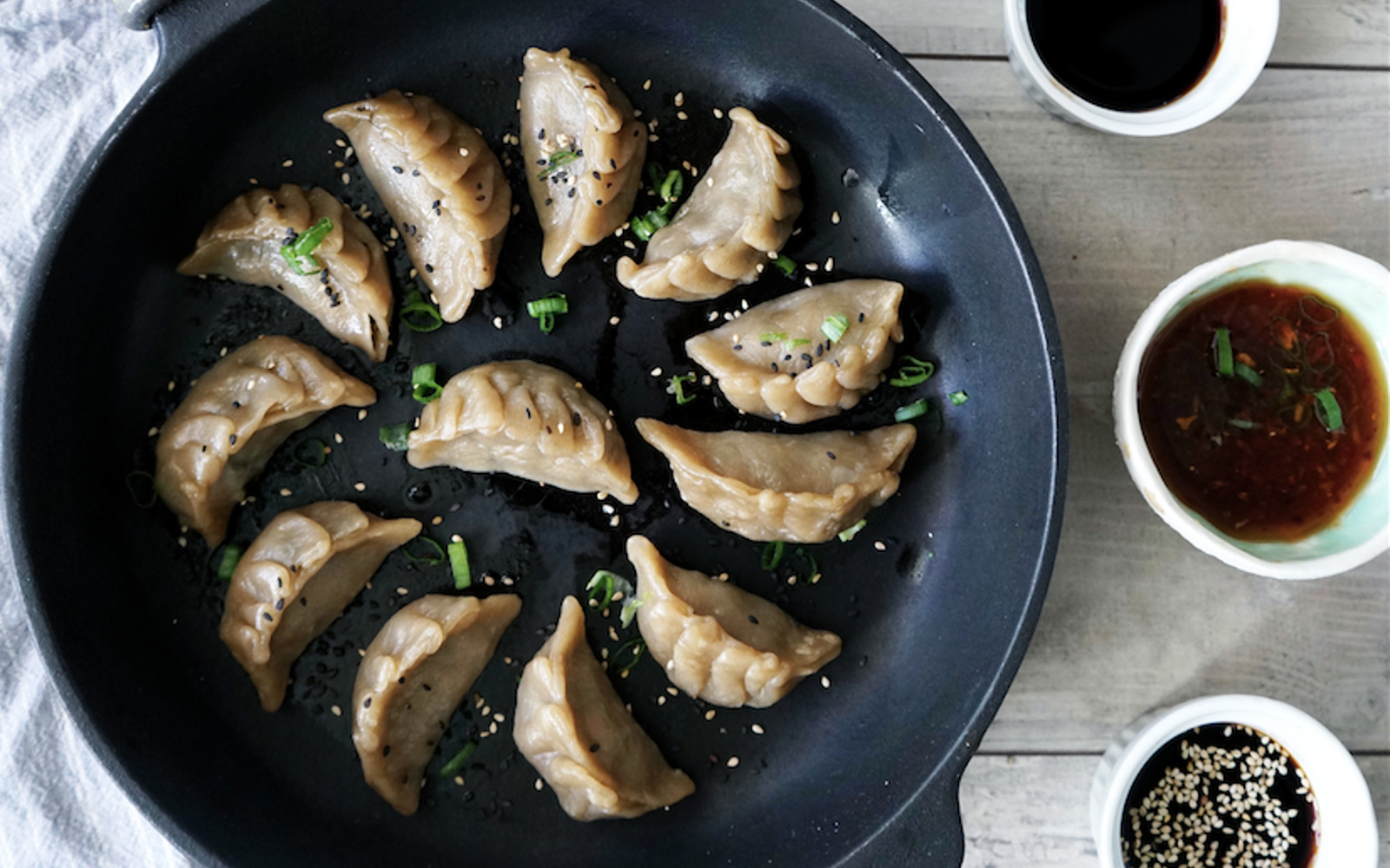 Not Pork Potstickers