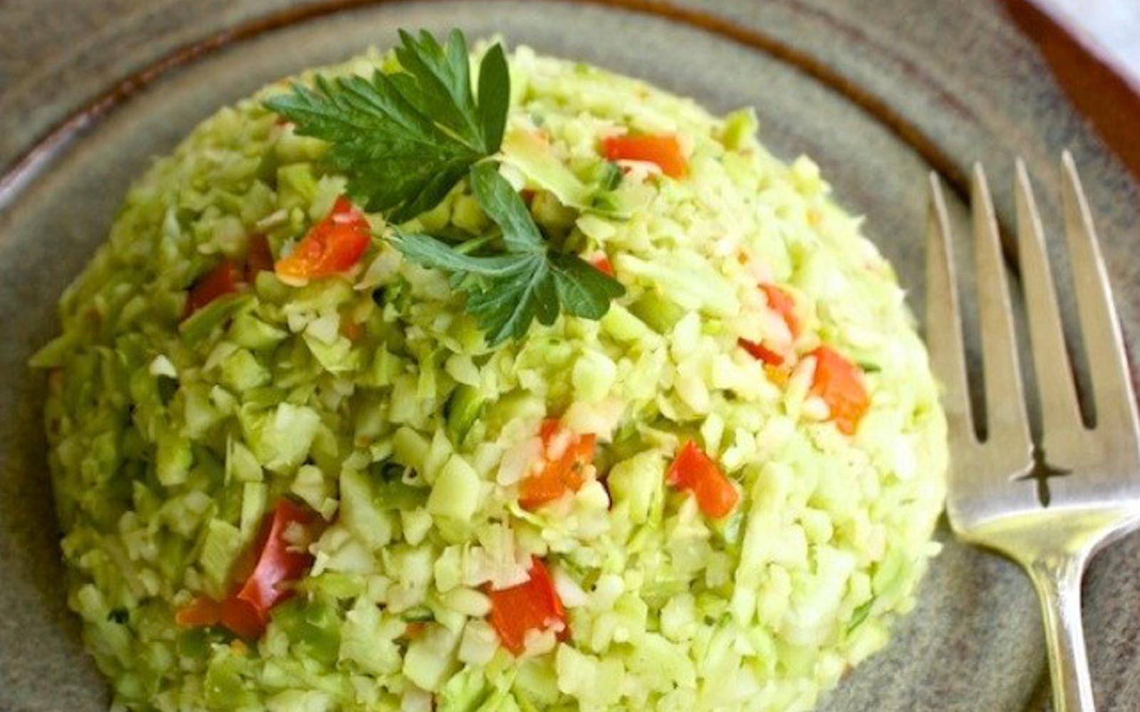 Broccoli Stalk Rice