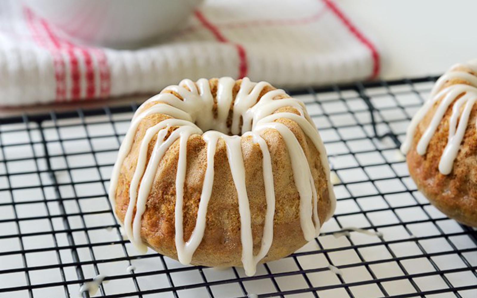 Cinnamon Zucchini Cakes