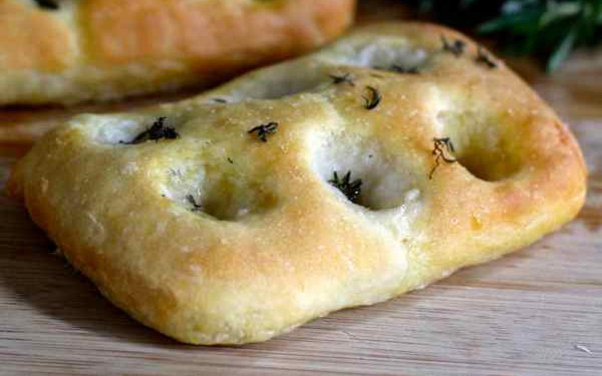 Vegan Focaccia di Genova