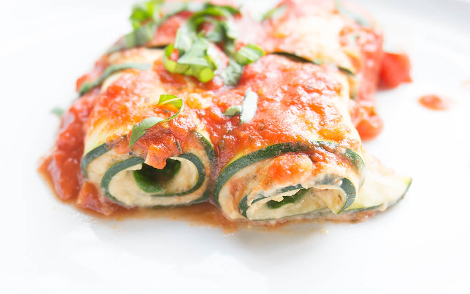 Fresh and Light Zucchini Lasagna Roll-Ups