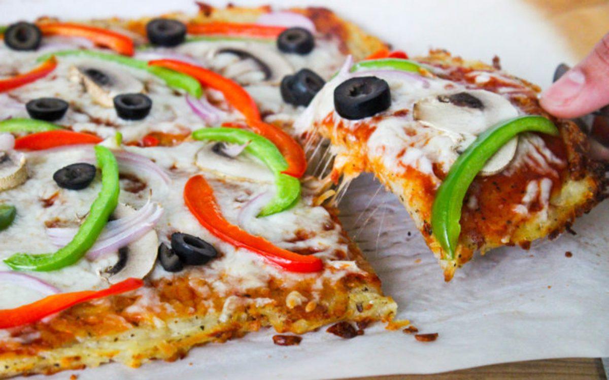 Vegan Hash Brown Pizza