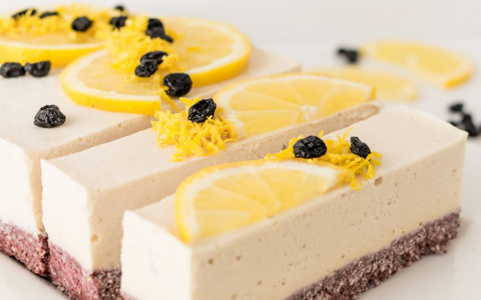 Vegan Sunshine Lemon Ice Cream Cake