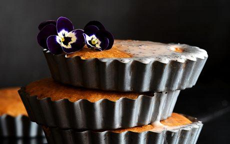 Lemon and Elderflower Tartlet Cakes