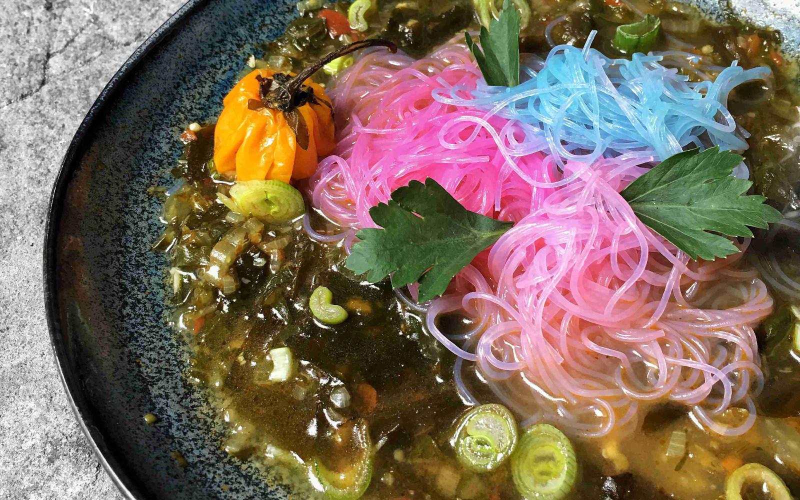 """Pepre Watra: Spicy """"Fish"""" Soup"""