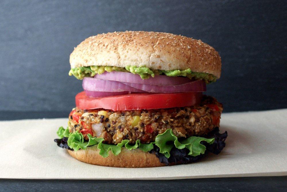 Quinoa-White-Bean-Burger