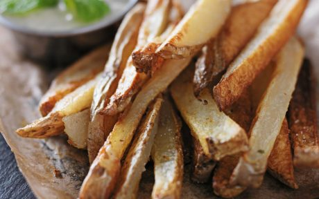 Oil-Free Garlic Fries