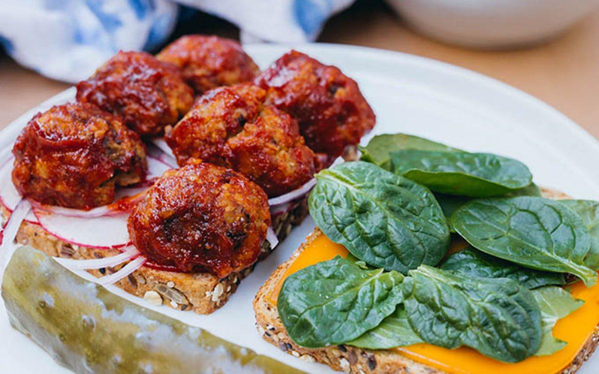 Vegan Meatballs Tempeh Oat