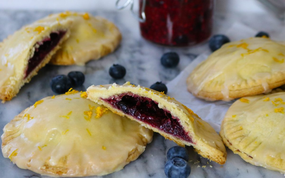 Triple Berry Hand Pies