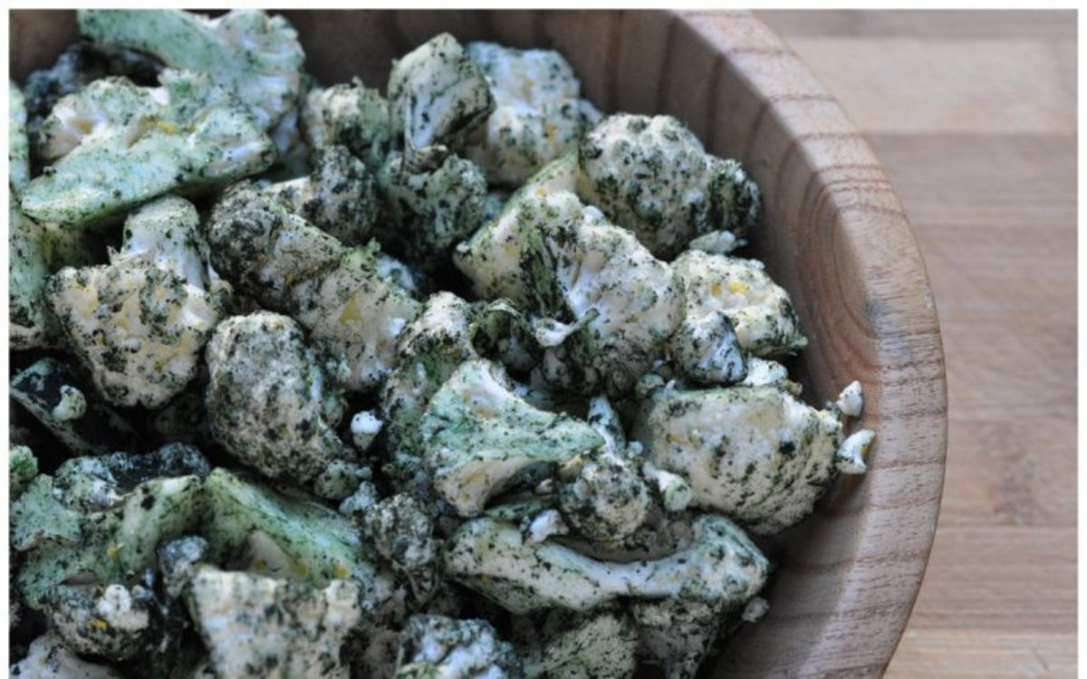 Raw Cauliflower 'Popcorn'