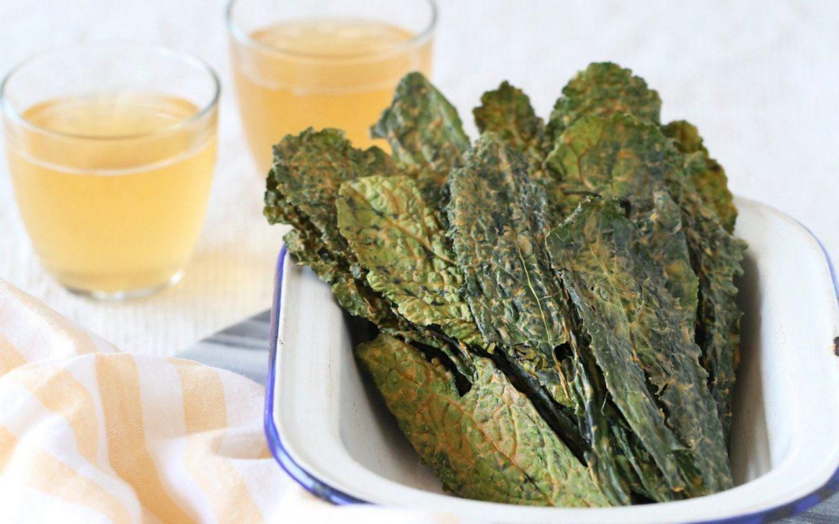 Smoky Bbq Kale Chips Vegan Gluten Free One Green