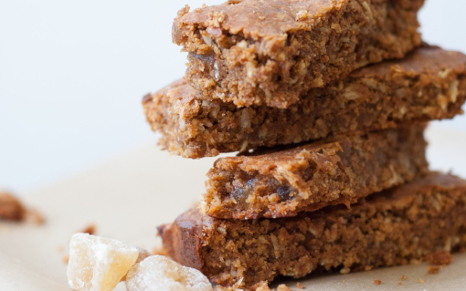 Sweet Potato Ginger Granola Bars