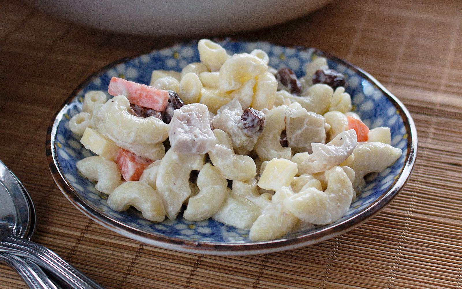 Filipino Macaroni Salad
