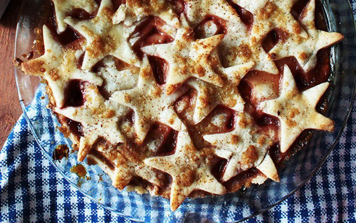 Vegan and Gluten Free Summer Stone Fruit Pie