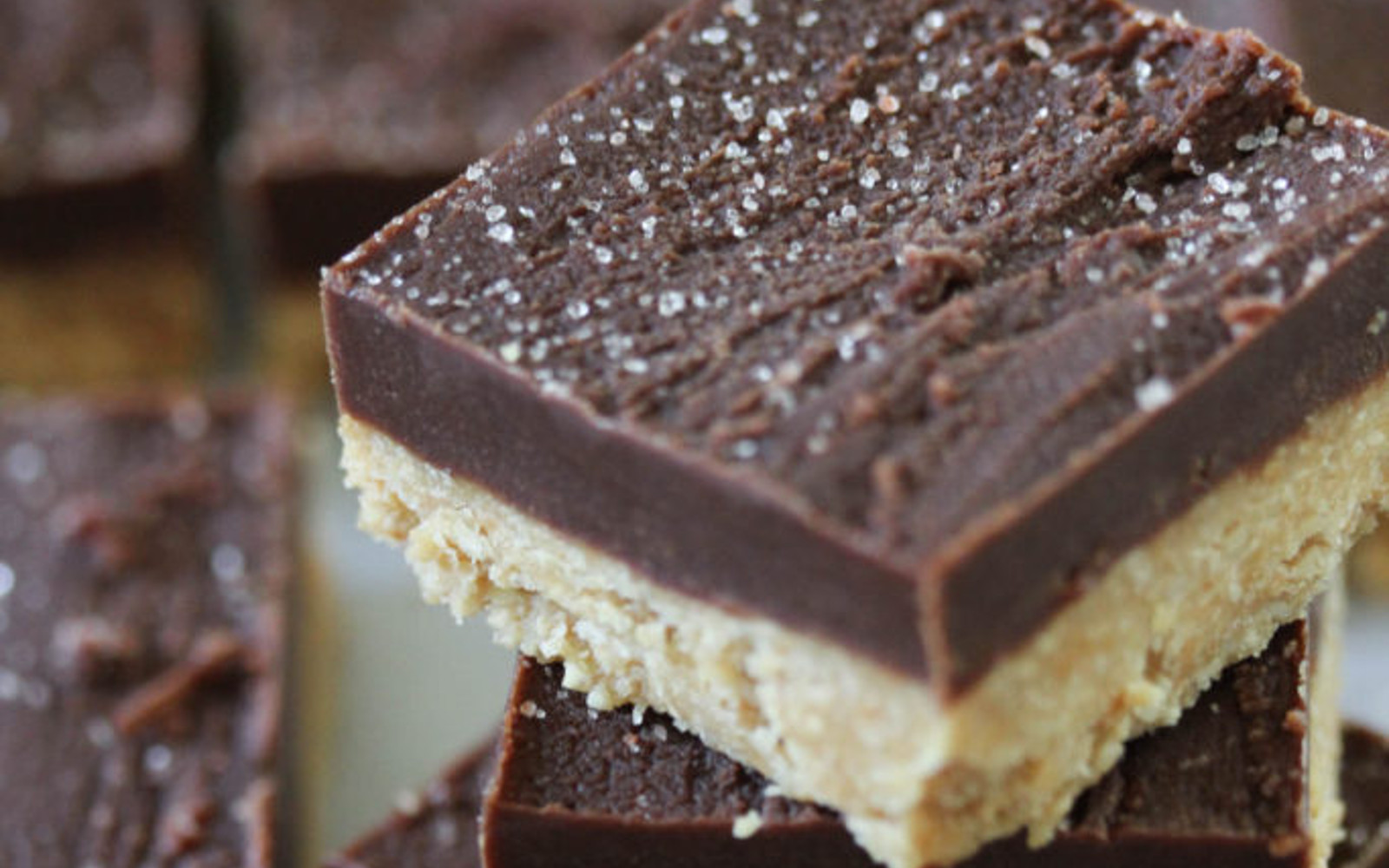 Vegan Peanut Butter Chocolate Bars