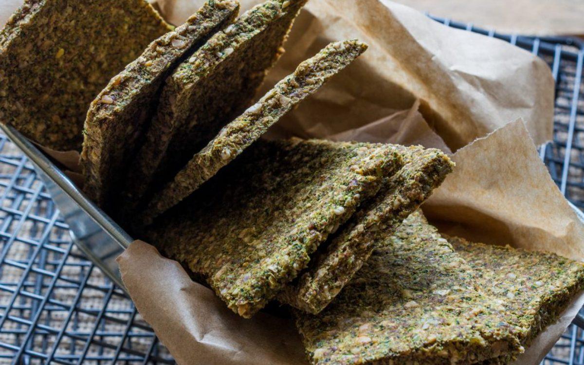 Raw Broccoli Flatbread